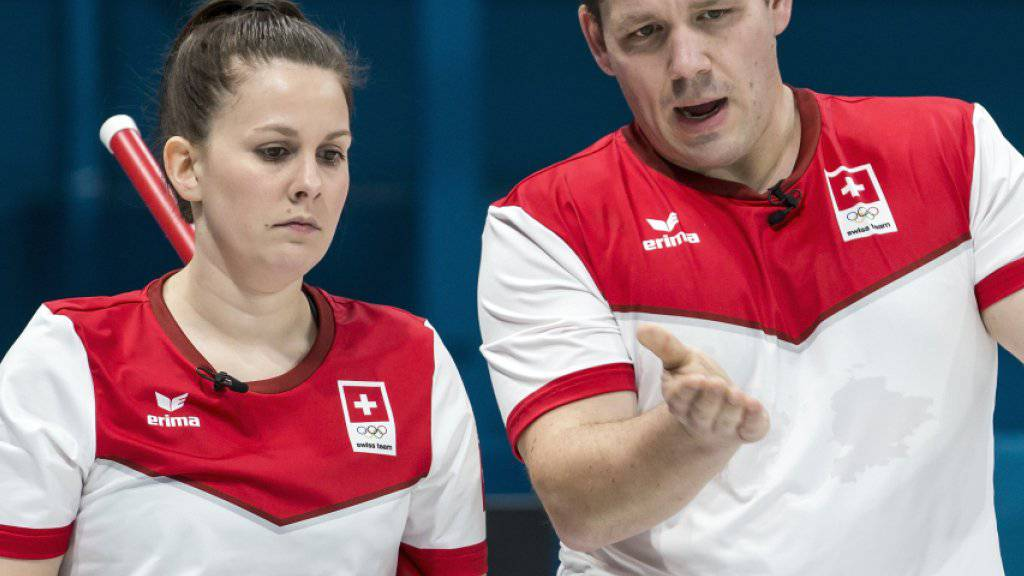 Jenny Perret und Martin Rios beim Taktieren
