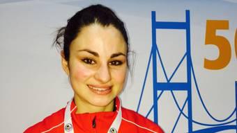 Elena Quirici gewinnt in Paris die Silbermedaille.