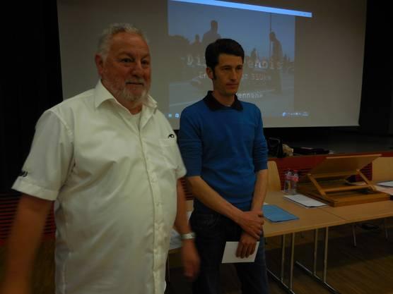 Jürg Berri und Bruno Weibel