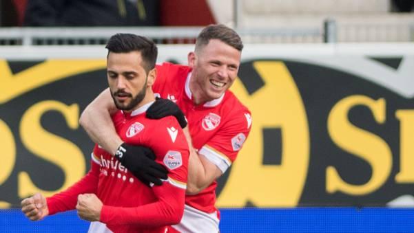 Freude in Thun: Drei Punkte und die Ankunft eines neuen Teamkollegen gibt es zu feiern