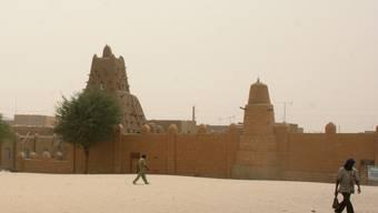 Eine Moschee in Timbuktu, die zum UNESCO-Welterbe gehört (Archiv)