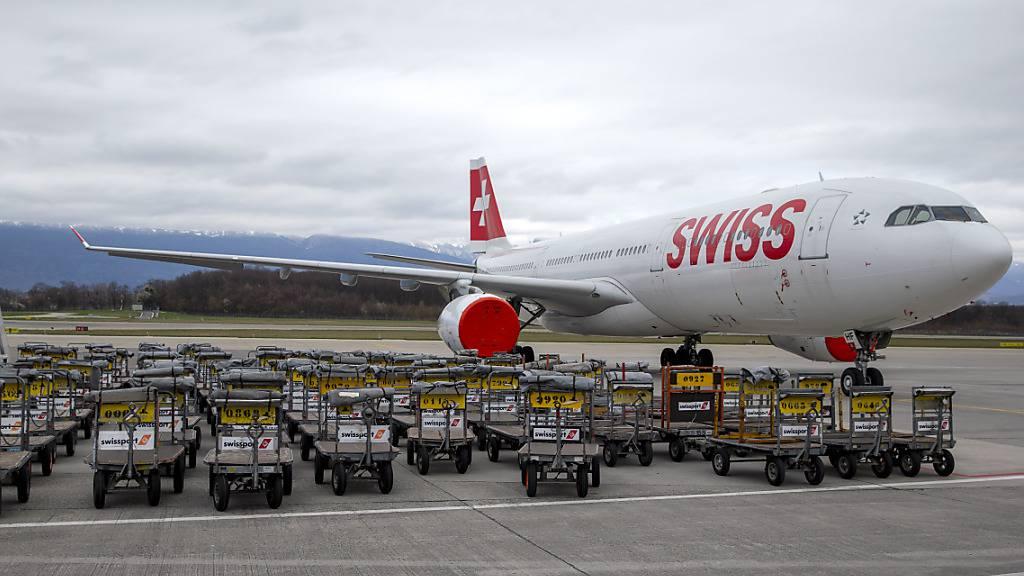 Flughafen Genf schreibt im Coronajahr tiefrote Zahlen