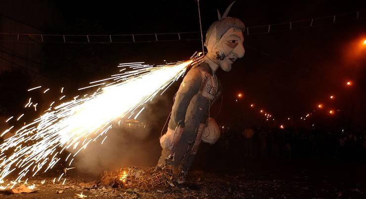 In Mexico wird Judas verbrannt