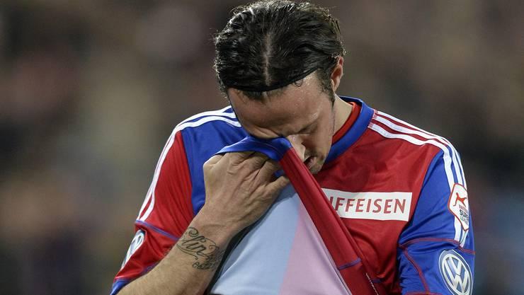 Marco Streller schied vorzeitig verletzt aus