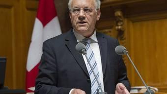 Bundesrat Johann Schneider-Ammann will die Solidarhaftung in einer gesonderten Vorlage regeln