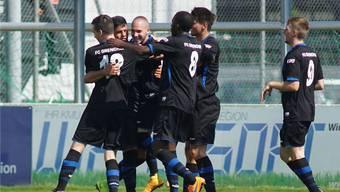 Der FC Grenchen ist im Schweizer Cup eine Runde weiter und darf nun auf ein ganz grosses Los hoffen (Archivbild).