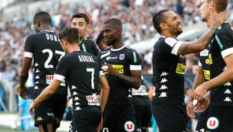 Mischen die Ligue 1 weiter auf: die Spieler von Aufsteiger Angers (Archivbild)