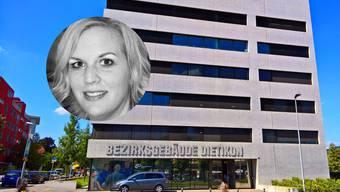 Fabienne Moser-Frei, parteilose Bezirksrichter-Kandidatin. (Symbolbild)