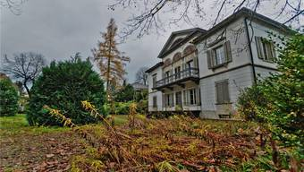 Ziel illegaler Geldflüsse und Objekt des Scheiterns statt noble Anwaltskanzlei: Villa Malaga in Lenzburg, die Padrutt einst gehörte.