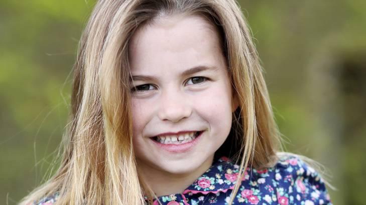 Prinzessin Charlotte feiert sechsten Geburtstag