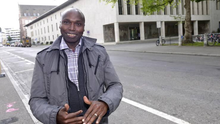 «Sport hat mein Leben verändert»: Wilson Kipketer erzählt in Basel.