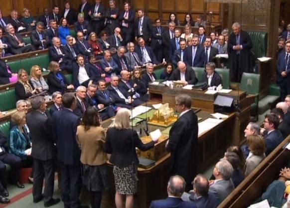 Das Parlament verlangte die Veröffentlichung von Brexit-Dokumenten.