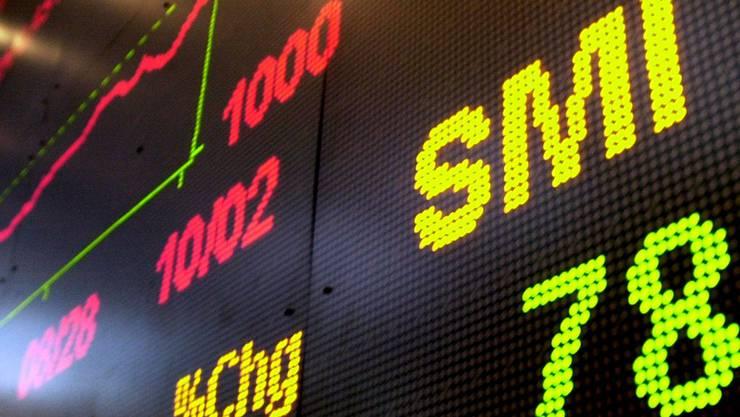Die Schweizer Börse SWX hat 2013 stark zugelegt.