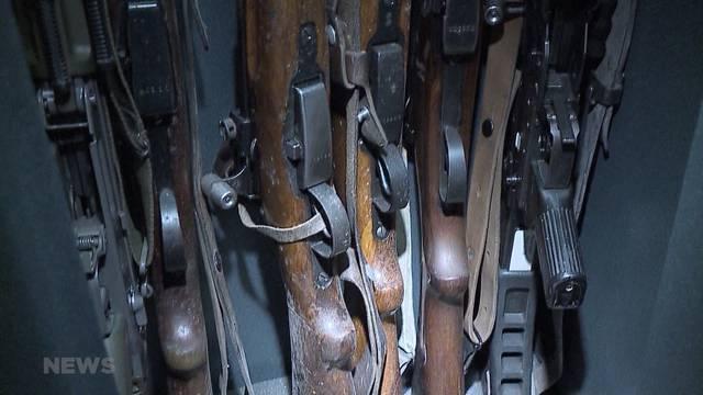 SP mobilisiert für verschärftes Waffengesetz