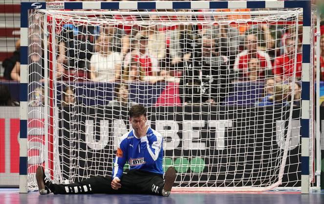 Dänemarks Torhüter Niklas Landin musste bereits nach der Vorrunde die Heimreise antreten.