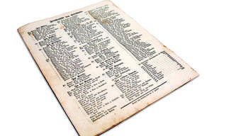 Lieber nicht mit der Sekretärin im Hotel einchecken: Vom «Adler» über den «Pflug» bis zum «Rothen Thurm»: Von 13 Gaststätten sind die Namen der Gäste in dieser Wochenblatt-Ausgabe publiziert. Diese Trouvaille von 1844 gehört Max Glanzmann aus Biberist.