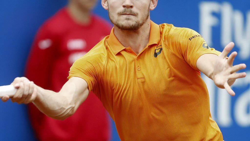 Ein Top-Ten-Spieler für Gstaad: David Goffin kommt ins Berner Oberland