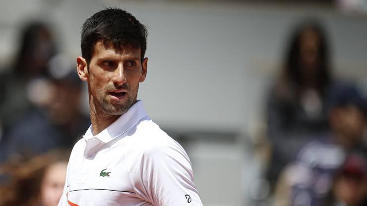 Novak Djokovic führt die Setzliste in Wimbledon an.