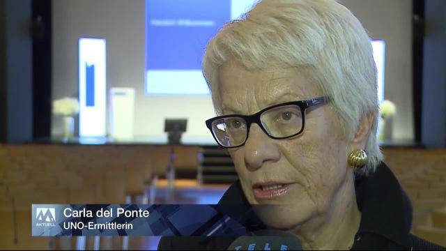 UNO-Ermittlerin Carla Del Ponte zu Besuch im Aargau