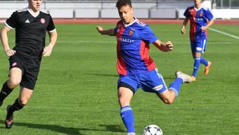 Schoss das Tor zum zwischenzeitlichen 1:1: FCB-Spieler Julian Vonmoos.
