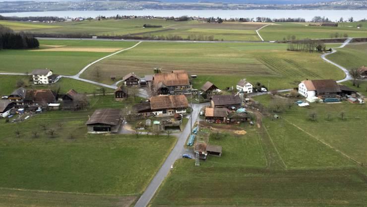 50-Seelen-Gemeinde in der Nähe des Murtensees: Das Dorf Clavaleyres.