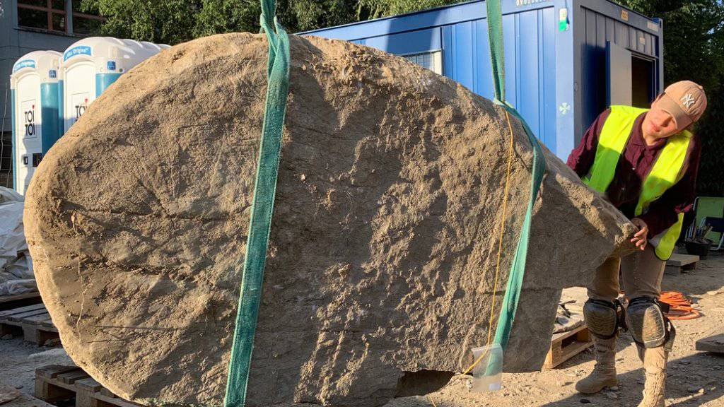 Grabmäler aus der Jungsteinzeit in Sitten entdeckt