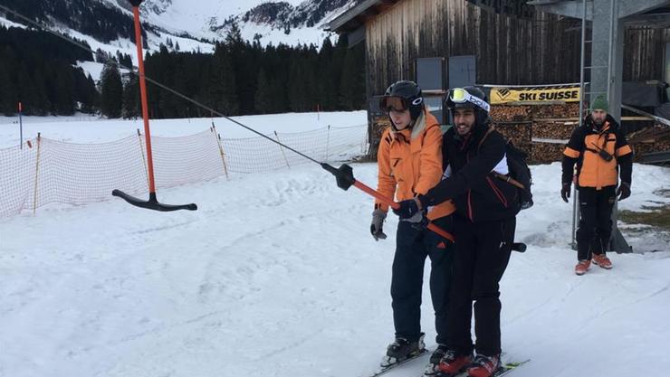 Riesige Fortschritte bei den Ski-Neulingen