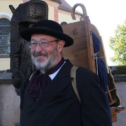 Rudolf Schwär vom Klostermuseum St. Märgen