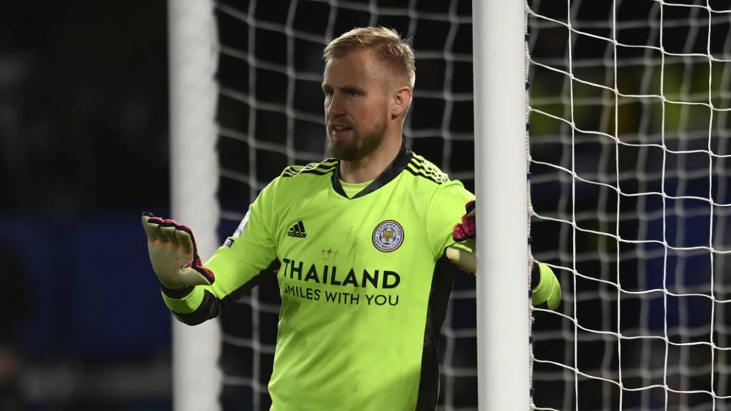 Schmeichel macht Leicester und Arsenal unglücklich
