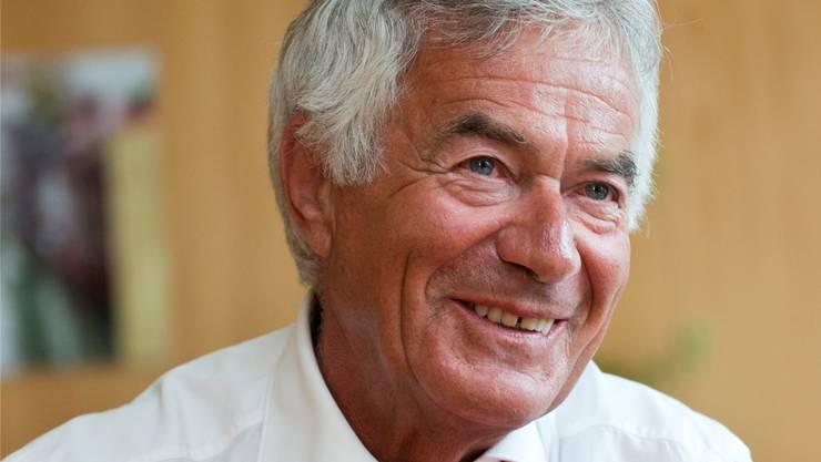 Walter Straumann (CVP) ist seit 1997 Vorsteher des Bau- und Justizdepartements. Er ist 70 Jahre alt und wohnt in Olten.