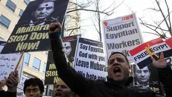Hunderttausende demonstrieren in Kairo gegen Mubarak