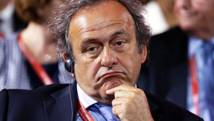 Michel Platini will Fifa-Präsident werden.