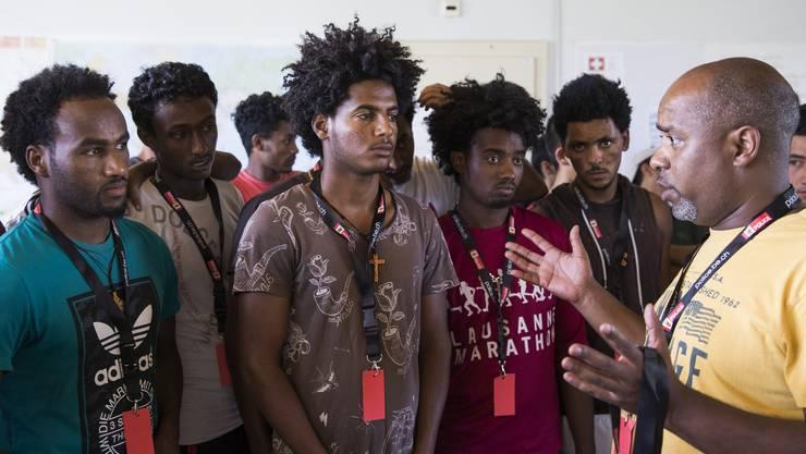 Unter Menschen aus Eritrea löst die verschärfte Asylpraxis Angst aus. (Symbolbild)