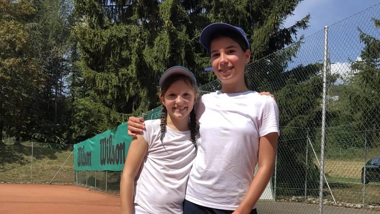 v.l.n.r. Annabelle Schneider und Julia Szepesi