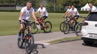 FCB-Training nach Wickys Rauswurf