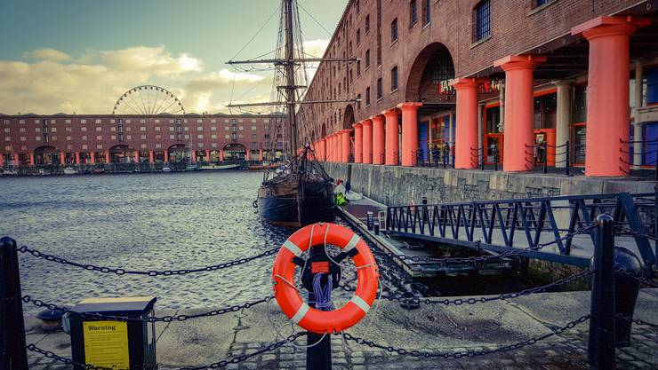 Dank dem Hafen wurde Liverpool zur Weltstadt.