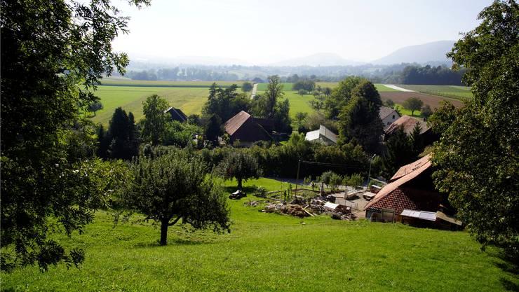 Das Bauernhaus sollte möglichst erhalten bleiben. Dazu sollen neu zwei Bauplätze entstehen.
