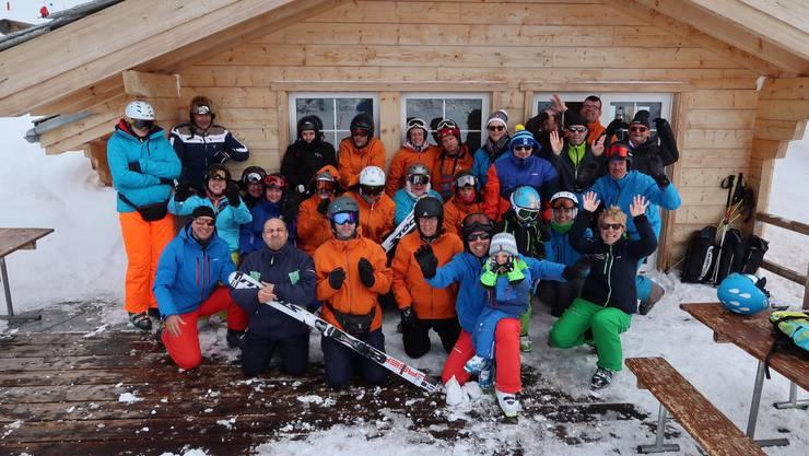 Teilnehmende und Begleitpersonen genossen das Schneesportlager in Saas Grund
