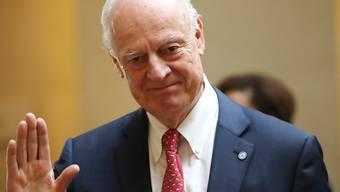 Der scheidende Uno-Syrienbeauftragte Staffan de Mistura kann zum Abschluss noch einen kleinen Durchbruch in den Verhandlungen vorweisen.