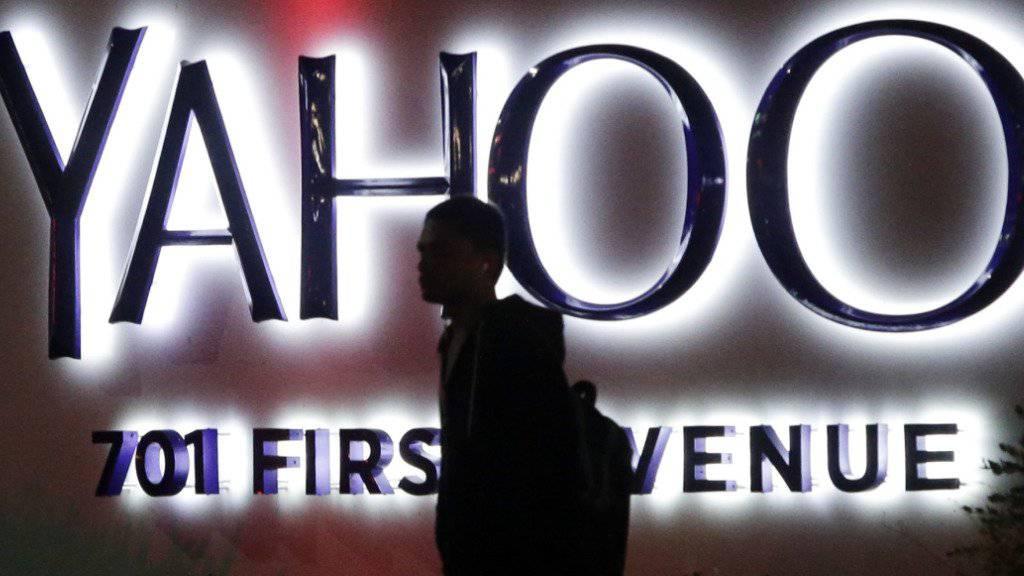 Der Internetpionier Yahoo ist ins Visier von Google geraten. (Archivbild)
