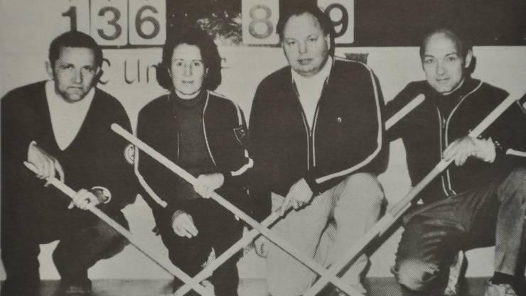 Curling Club Limmattal 50 Jahre alte Bilder