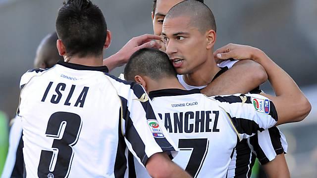 Gökhan Inler schafft mit Udinese die Champions-League-Qualifikation