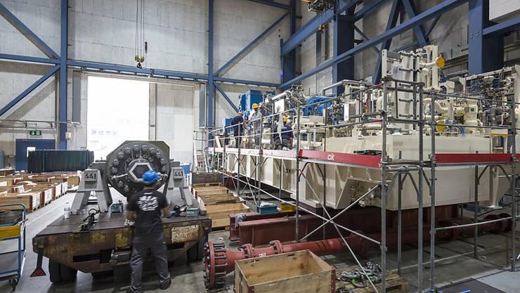 MAN Energy Solutions produziert mitten im Stadtzürcher Kreis 5 Kompressoren für die Öl- und Gasindustrie. In den kommenden Jahren soll der Personalbestand in Zürich sogar noch ausgebaut werden. (Archivbild)
