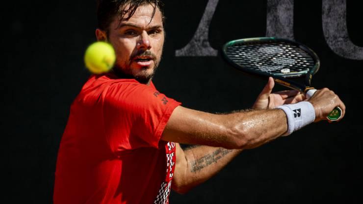 Stan Wawrinka siegt in Prag weiter und steht beim zweiten Turnier in den Viertelfinals