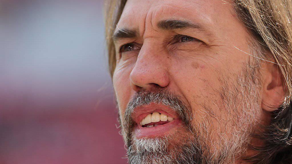 Martin Schmidt ist neuer Trainer von Wolfsburg