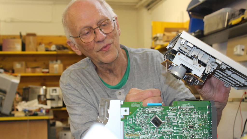 Vom Bünzli zum Freigeist: Dieser 77-Jährige repariert (fast) alles