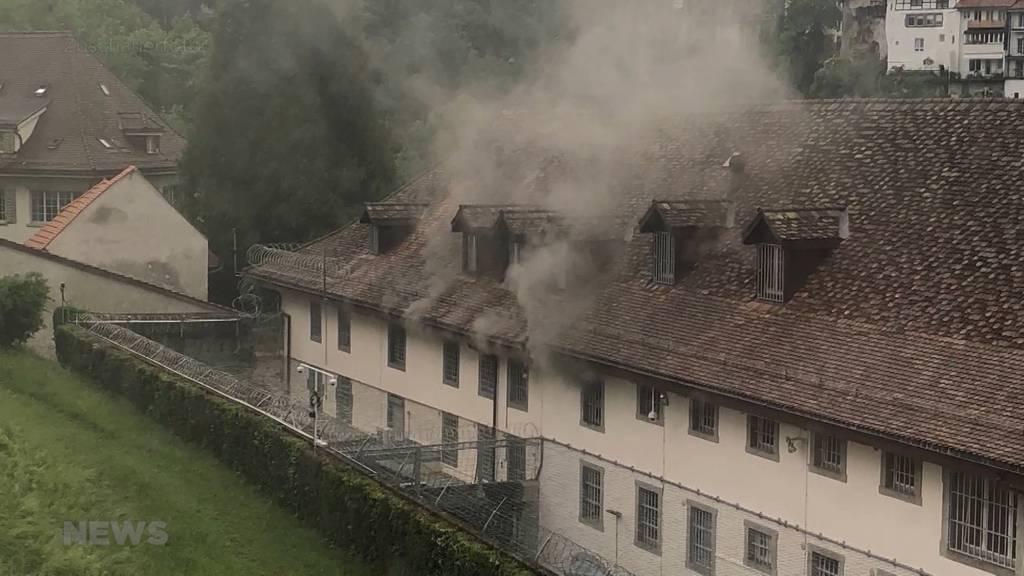 Brand im Zentralgefängnis Freiburg wirft Fragen auf