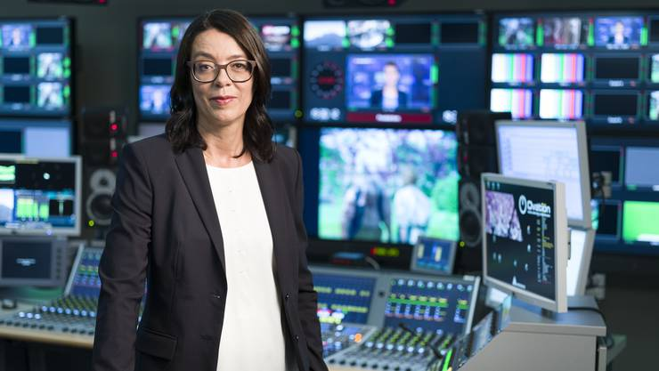 Direktorin Nathalie Wappler konkretisiert den Umbau von SRF. Als Folge kommt es unter dem Strich bei Radio und Fernsehen zu 116 Entlassungen.