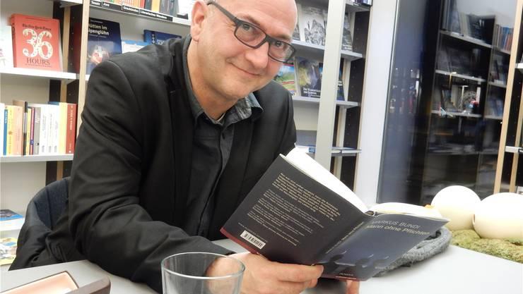 Markus Bundi begeistert mit seinem neuen Roman. Marco Plüss