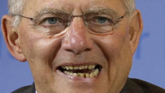 Der deutsche Finanzminister Wolfgang Schäuble und vier Amtskollegen wollen gegen Steuerbetrug vorgehen (Archiv)